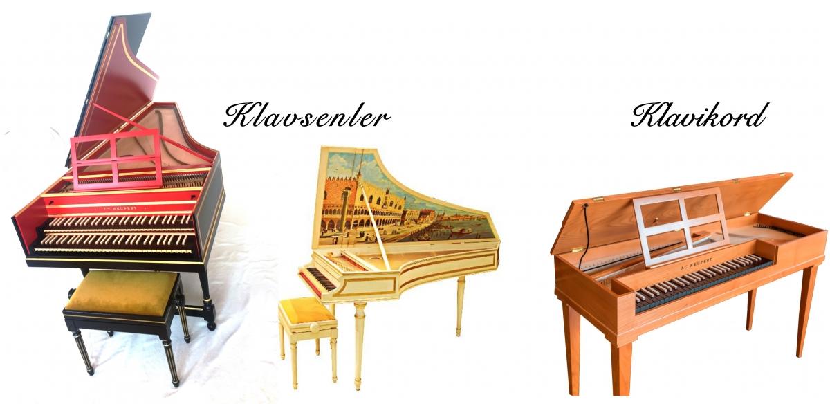 Barok Enstrümanlar Klavsenler, Klavikord